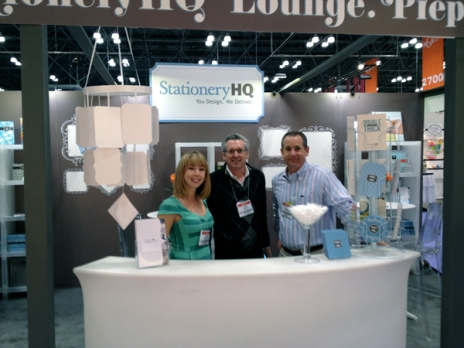 The StationeryHQ Dream Team: Scott Feldman, Jack Tanowitz, and Leah Pyron
