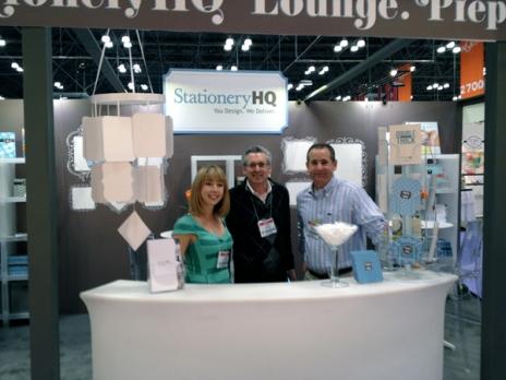 The StationeryHQ Dream Team: Scott Feldman, Jack Tanowitz, and Leah Pyron