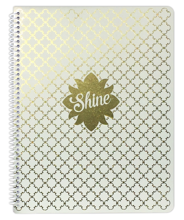 Foil makes a sassy notebook at a great price.