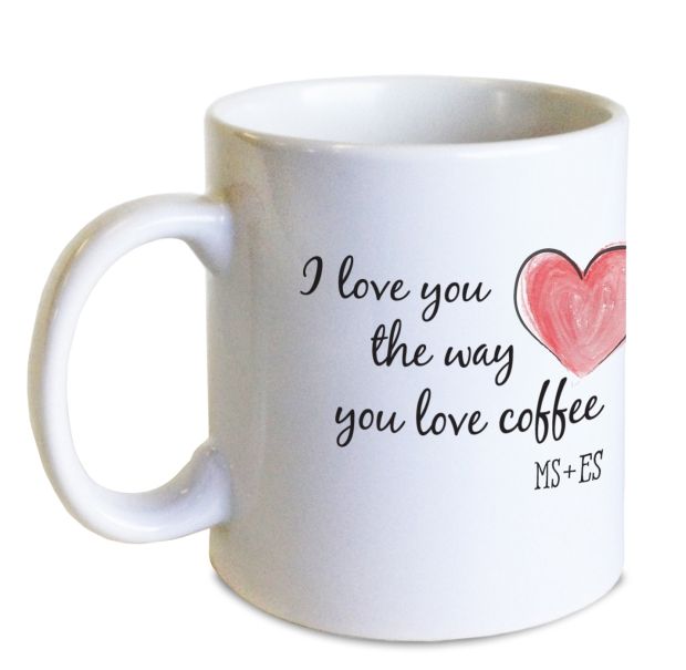 Mugs were our top seller for personalized gifts last year...